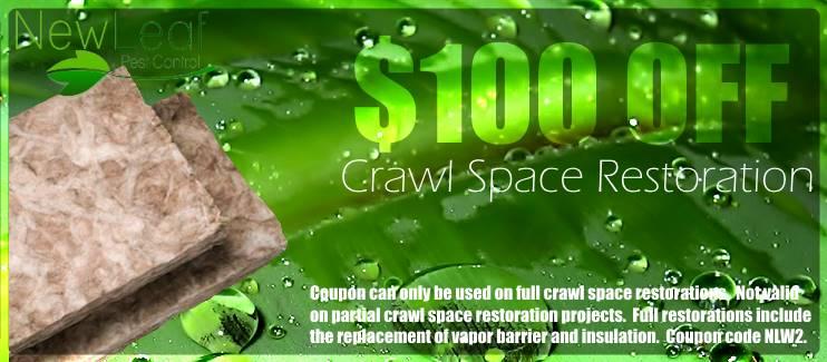 Crawl Space Restoration Portland Oregon